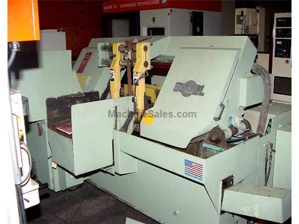 "16"" Width 14"" Height DoAll C-4100A HORIZONTAL BAND SAW, Autofeed Shuttle Vise, 1-1/2"" Blade, 10 HP,"
