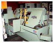 """16"""" Width 14"""" Height DoAll C-4100A HORIZONTAL BAND SAW, Autofeed Shuttle Vise, 1"""