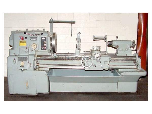 "20"" Swing 54"" Centers Monarch 610 ENGINE LATHE, Roller Type Steady Rest, 15 HP, Threads, Hard Bed"
