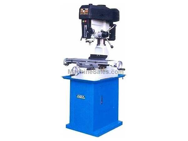 "29"" Table 2HP Spindle Rong Fu RF-31 Mill/Drill VERTICAL MILL, 2 HP  1 or 3 Phase, 12 speed, step pulley"