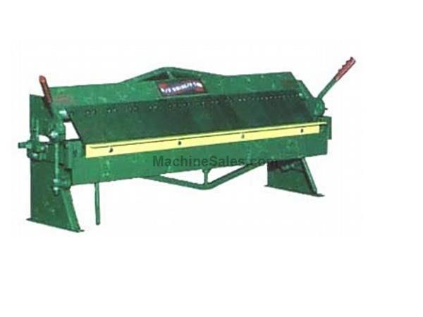 "0.0598Ga Thickness 48"" Width National U4816 FINGER BRAKE, Made In USA, Bench Model Box & Pan"