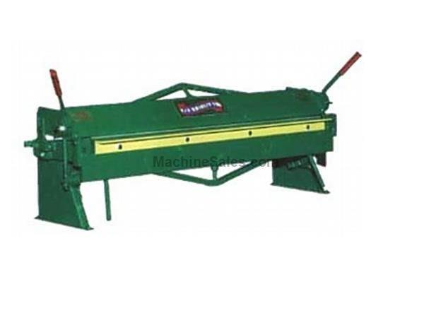 "0.0598Ga Thickness 48"" Width National S4816 FINGER BRAKE, MADE IN USA, Heavy Duty Bench Model"