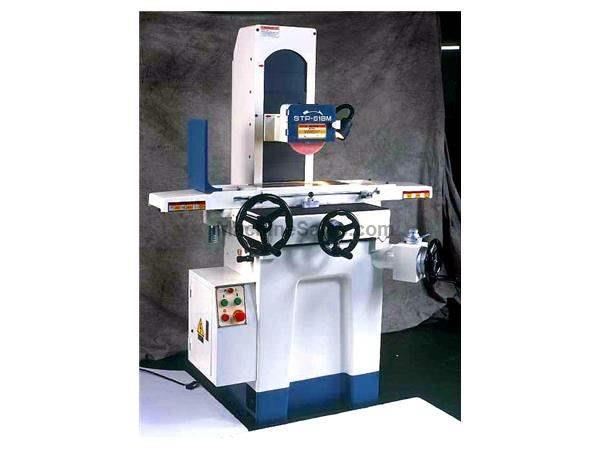 "6"" Width 18"" Length Supertec STP-618M SURFACE GRINDER, 3 HP, Roller Ways on Table"