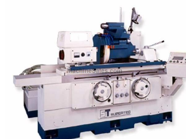 "8"" Dia. 20"" Length Supertec G20P-50NC OD GRINDER, Automatic Infeed thru Mitsubishi PLC"
