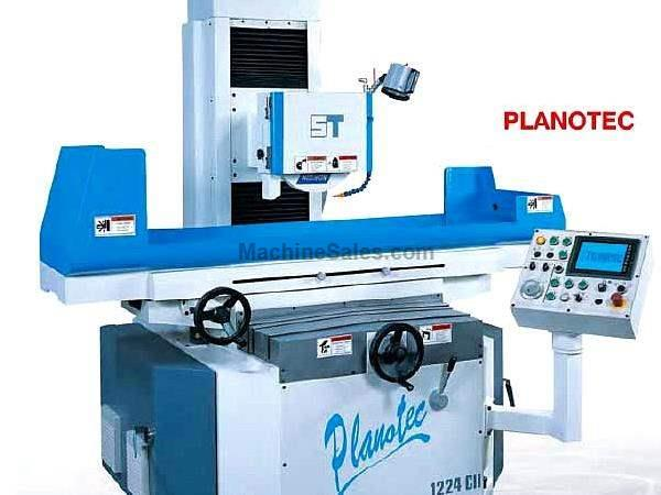 "12"" Width 24"" Length Supertec PLANOTEC 1224NC SURFACE GRINDER, 3-Axis Automatic, 7.5 HP"