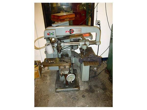 "8"" Table L 18 RPM Gorton P1-3 ENGRAVING MACHINE, 3-DIMENSIONAL, UP TO 18,000 RPM, 2:1 up to 16:1"