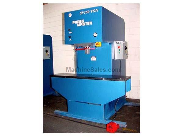 "150 Ton 16"" Stroke Pressmaster SP-150 STRAIGHTEN PRESS"