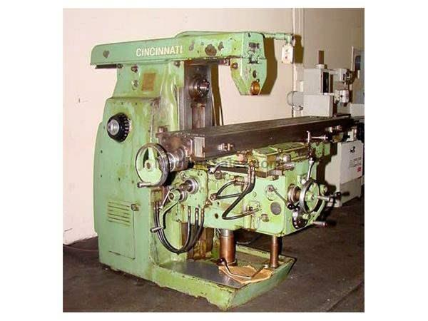 "65.25"" Table 10HP Spindle Cincinnati 310-14 HORIZONTAL MILL, 14"" x 65"" Table, Independent Feed Motor"