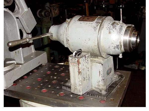 0.5HP Motor Schauer NA10 SPEED LATHE, LEVER OPERATED COLLET CLOSER