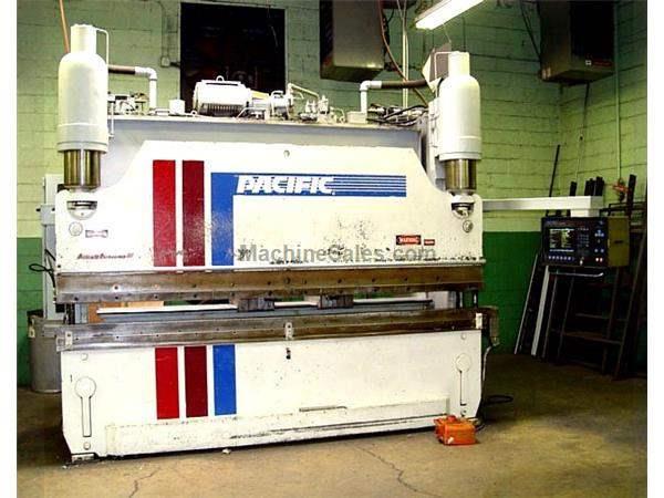"175 Ton 144"" Bed Pacific FF175-12IIS PRESS BRAKE, Cybelec DNC 90 7 Axis CNC Back Gauge"