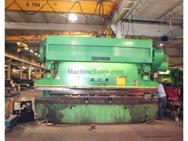 "225 Ton 192"" Bed Wysong 225-12 PRESS BRAKE"
