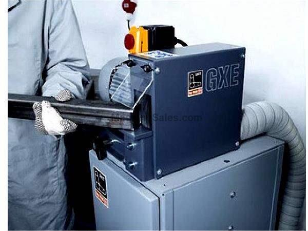 "4"" Width 3 Grit by Fein GXE Deburring Machine DEBURRER, 3 HP, for Rounds, Shapes and Flats"