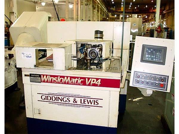 Giddings & Lewis VP4 Winslowmatic DRILL GRINDER