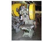 "40 Ton 3"" Stroke Rousselle 4G DEEP THROAT PRESS, Mechanical Clutch"