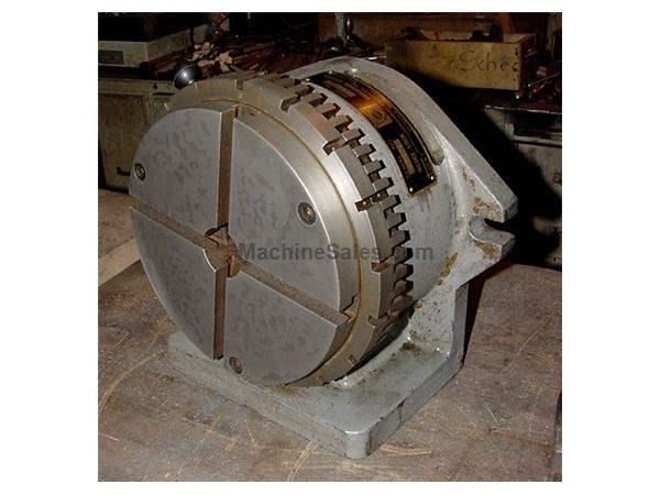 "8"" Width Olsen Industrial 8"" SUPER SPACER ROTARY TABLE, w/8"" T-Slotted Faceplate"