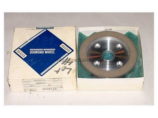 "Bay State Diamond Wheel GRINDER ATTACHMENT, 6"" Dia x 1.25"" Hole x .75"" Face"