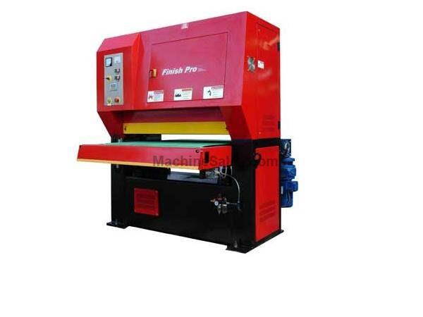"52"" Width Finish Pro FP-5285 SANDER, Dry Line Graining/Deburring/Finishing machine"