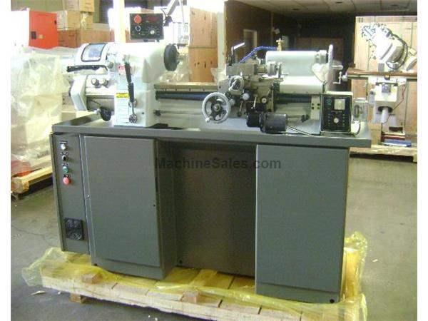 "6"" Swing 18"" Centers GMC TL-618EVS PRECISION LATHE, inverter drive spindle, 3 hp, 220v, 3-phase"