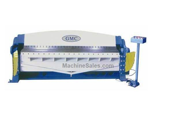 "10"" Thickness 72"" Width GMC HBB-0610 FINGER BRAKE, 6' x 10ga Hydraulically Operated Finger Brake"