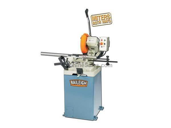 "12.5"" Blade Dia 2.5hp HP Baileigh CS-315EU COLD SAW, 220v 1-phase, european style"