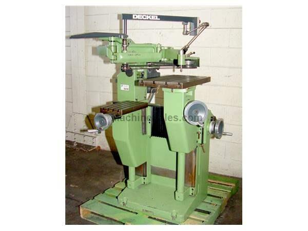 20000 RPM Deckel GK-21 ENGRAVING MACHINE, 3-DIMENSIONAL,