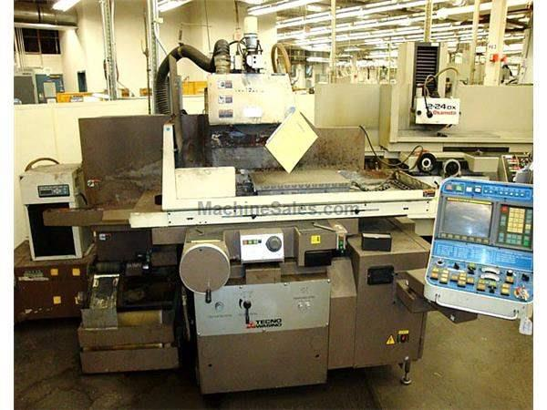 "15"" Width 27"" Length Wasino Tecno SE-64N2 SURFACE GRINDER, FANUC OM, CONTOURING, CNC DRESSING OFF TABLE"