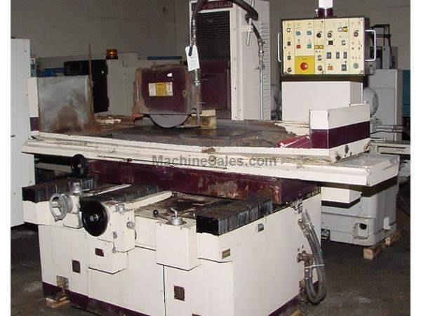 "16"" Width 40"" Length Chevalier FSG-1640-AD SURFACE GRINDER, AUTO IDF, 3X AUTO FEEDS, EMC, CLN'T"