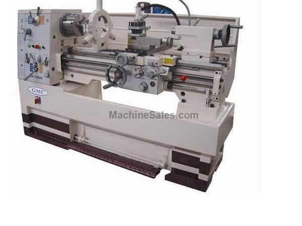 "16"" Swing 40"" Centers GMC GML-1640HD ENGINE LATHE, D1-6 with 2-1/16"" bore; heavy duty gap bed lathe"