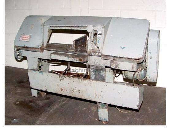 "16"" Width 8"" Height Kalamazoo 8-C-W HORIZONTAL BAND SAW, NOTE BROKEN GUIDE ARM"