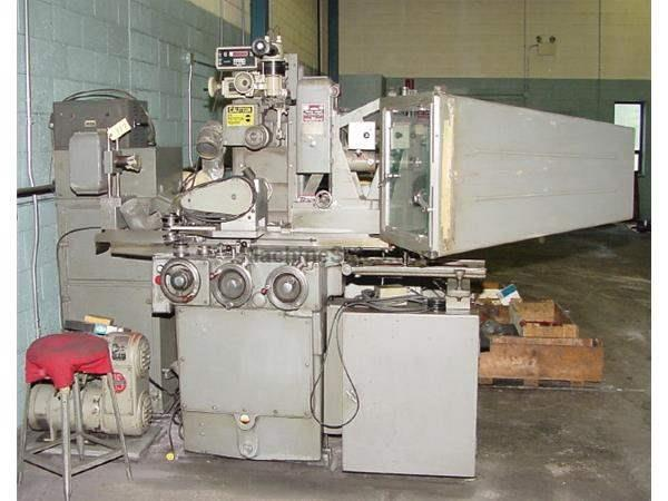 "6"" Width 18"" Length Brown & Sharpe 618 MICROMASTER VISUAL SURFACE GRINDER, BOX TYPE DUST COLLECTOR"