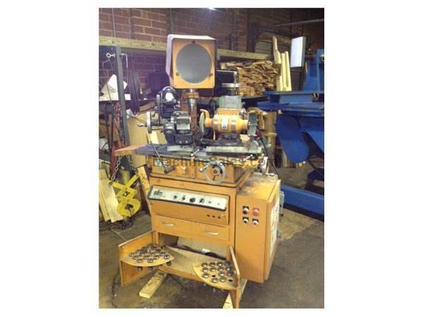 Seneca Falls 25 RO TOOL & CUTTER GRINDER, ROYAL OAK, OPTICAL COMP., MTRZ'D REL. FIXTURE