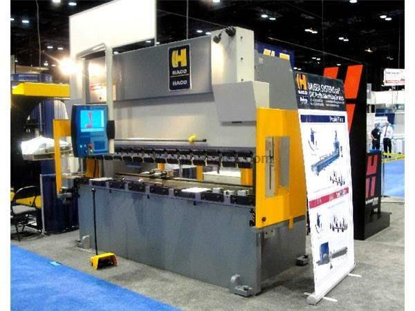 "150 Ton 120"" Bed Haco Synchromaster SRM 150-10-8 NEW PRESS BRAKE, Standard ATS 560 CNC Control"