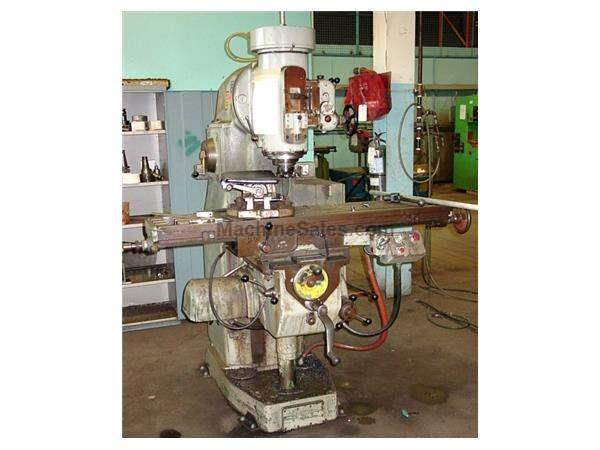 "59"" Table 10HP Spindle Sajo VF-54PA VERTICAL MILL, #50Taper, Quill, Swiveling Head, Pwr Rapids & Feed"
