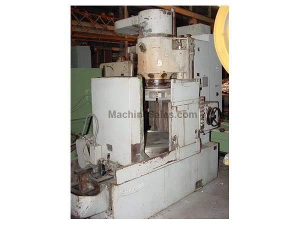 "42"" Chuck 50HP Spindle Toshiba KRTC-11A ROTARY SURFACE GRINDER, MADE IN JAPAN, EMC, Segmented Wheel, Coolant"