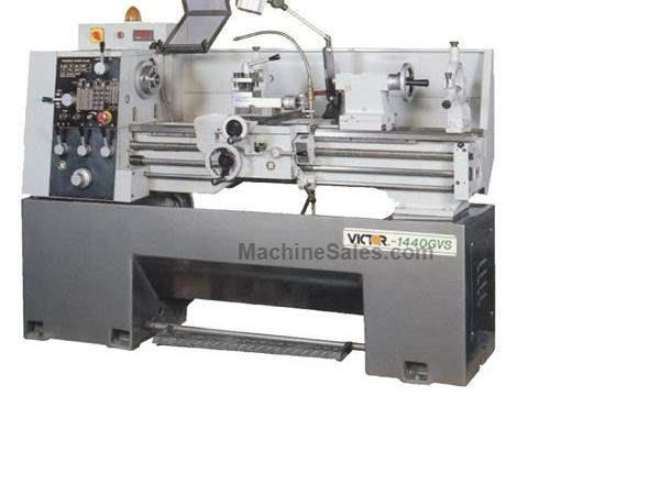 "14"" Swing 40"" Centers Victor 1440GVS w/Special Package ENGINE LATHE, D1-4 Camlock w/ 1-9/16"" bore; 2 steps variable spd"