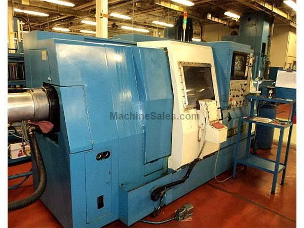 "20.5"" Swing 25.4"" Centers Mori Seiki ZL-25A/500 CNC LATHE, Fanuc11TT, 4-axis, Tailstck, Chip Conv."