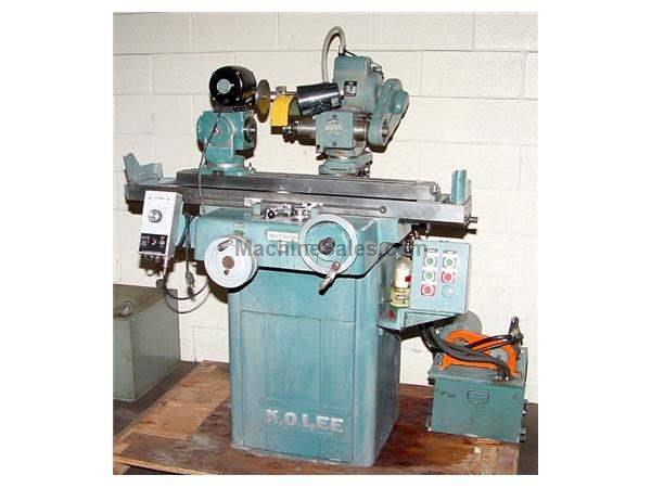 K.O. Lee B6062H TOOL & CUTTER GRINDER, DAKOTA SERIES, TILTING WHEELHEAD, HYD. TABLE, ACCE