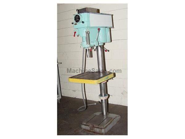 "20"" Swing 1.5HP Spindle Clausing 2277 DRILL PRESS, Vari-Speed,#3MT, T-Slotted Table & Base,"