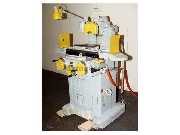 "5"" Width 10"" Length Taft Pierce #1 SURFACE GRINDER, tilt wheelhead, roller bearing table, pmc"