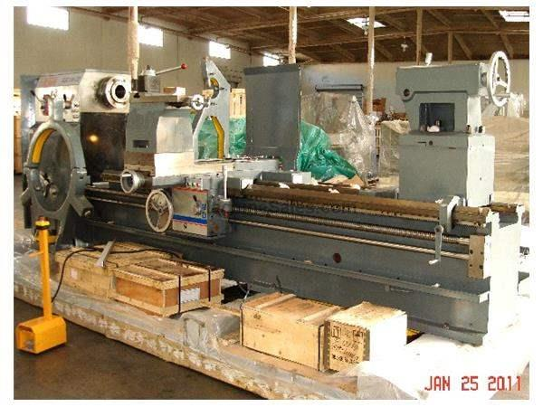 "56"" Swing 180"" Centers Birmingham KGC-56180 ENGINE LATHE, D1-11 with 4"" spindle bore (5"" optional)"