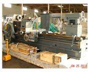 "64"" Swing 120"" Centers Birmingham KGC-64120 ENGINE LATHE, D1-11 with 4"" spi"