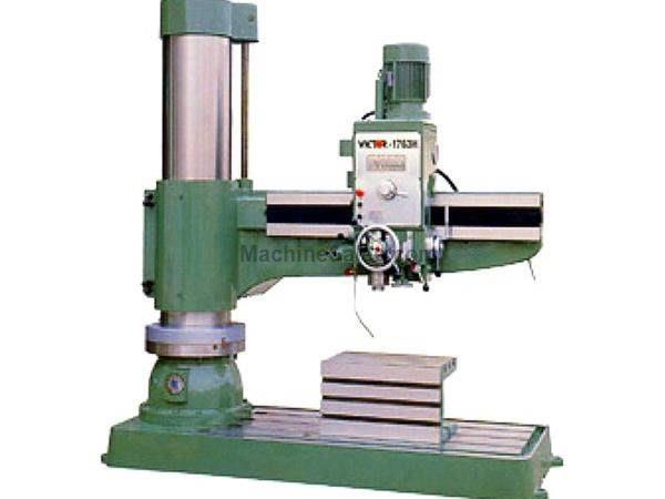 "63"" Arm 17"" Column Victor 1763H RADIAL DRILL, Spindle Stroke 14-9/16"", 12 speeds, 7.5 HP"