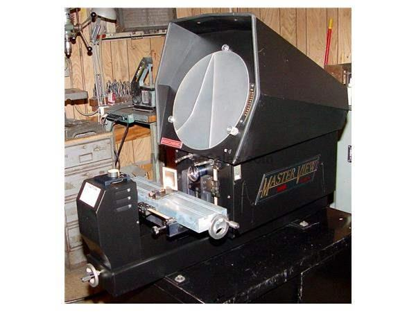 "14"" Screen Swiss Precision Inst. MV-14 MASTER VIEW OPTICAL COMPARATOR, LCD DRO's, Surf. Ill.,"