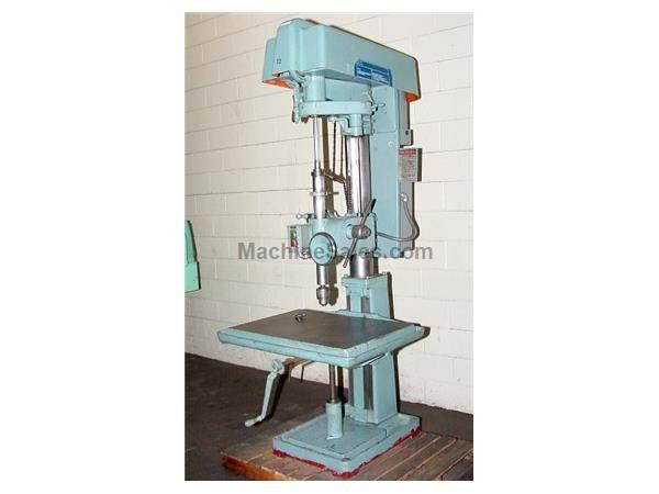 "22"" Swing 3HP Spindle Buffalo No. 22 DRILL PRESS, Power Down Feed, Tapping3 HP,Jacobs Drill Chuck,"