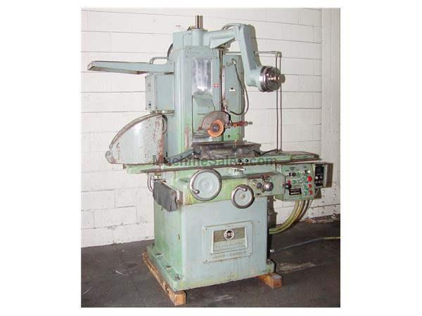 "8"" Width 18"" Length Gallmeyer & Livingston 260 SURFACE GRINDER, auto idf, 3x auto feeds, EMC, coolant"