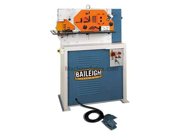 "44 Ton 6.88"" Throat Baileigh SW-443 NEW IRONWORKER, 4 station, 5 Hp, 220V, 3-phase"