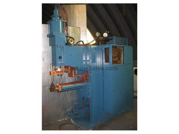 "200 KVA 30"" Throat Sciaky SPTIC 3-76-200 SPOT WELDER, Intertron MC302A"