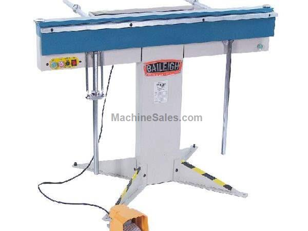 "16"" Thickness 48"" Width Baileigh BB-4816M FINGER BRAKE, magnetic clamping brake; 220V single phase"