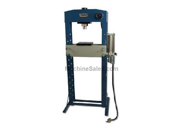 "30 Ton 5.9"" Stroke Baileigh HSP-30A H-FRAME HYDRAULIC PRESS, pneumatic/manual operation"