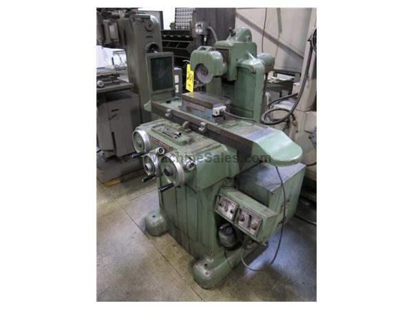 "5"" Width 12"" Length Taft Pierce No. 1 SURFACE GRINDER, ROLLER BEARING TABLE, TILT WHEELHEAD, FINE FEEDS"